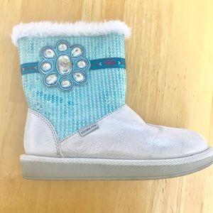 Girls Disney Frozen winter boots